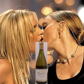 madonna & britney—they're just like wine!
