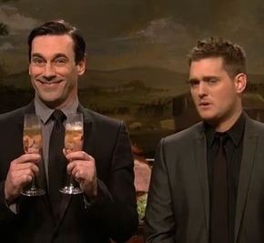 michael bublé has a cute winestory
