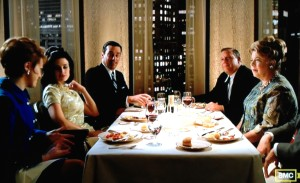 mad men heinz full dinner wine