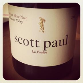drink me: scott paul la paulée pinotnoir