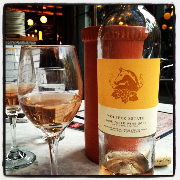 wolffer rose wine