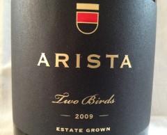 arista two birds pinot noir