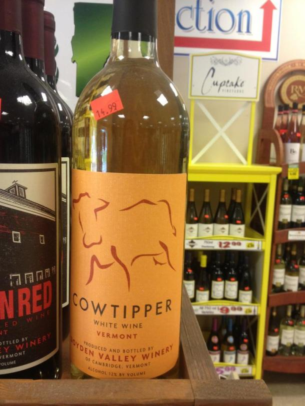 cowtipper white wine vermont