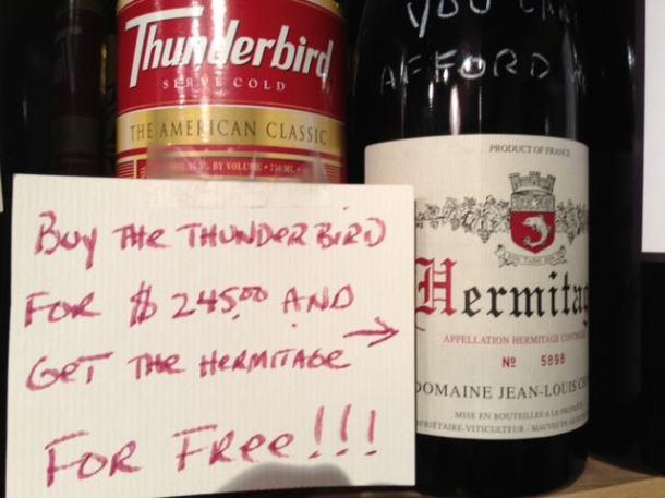 hermitage thunderbird