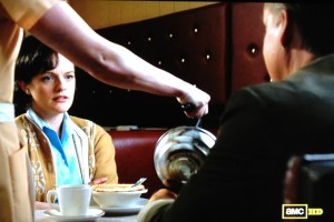 mad men peggy coffee diner