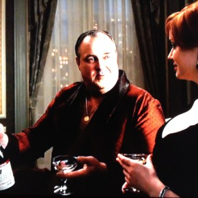 mad men: wine passes on this episode
