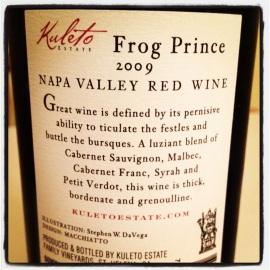 frog prince kuleto cabernet