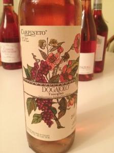 Dogajolo Rosato from Tuscany