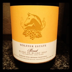 wolffer sparkling wine