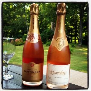 schramsberg taittinger rose champagne