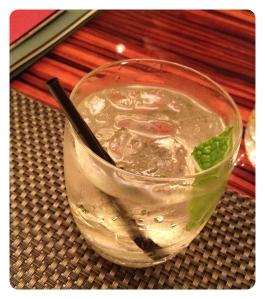 white port cocktail basil