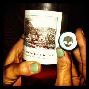 do aliens make out of this worldwine?