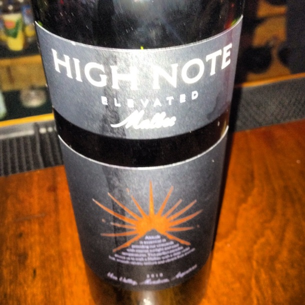 high note malbec