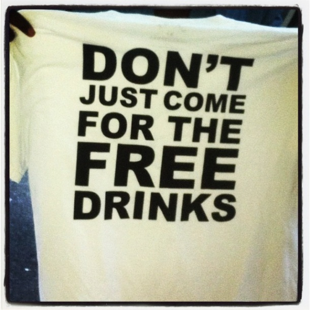marc jacobs fno shirt free drinks