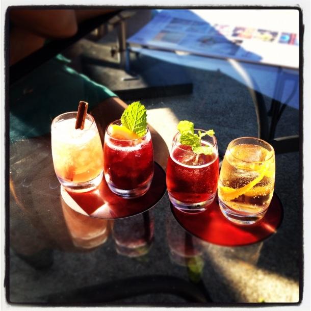 yeatman port cocktails