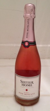 sutter home pink bubbly moscato