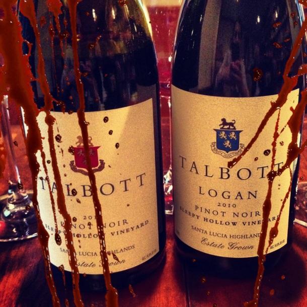 talbott pinot noir sleepy hollow vineyard