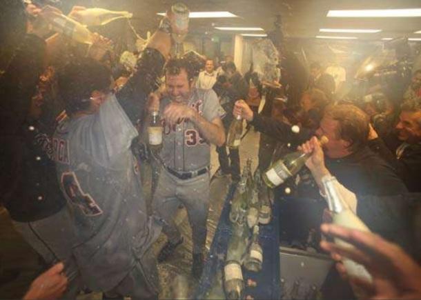 tigers champagne celebrate fre brut