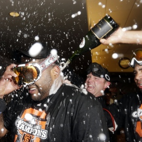 world series of bubbly: giants vstigers