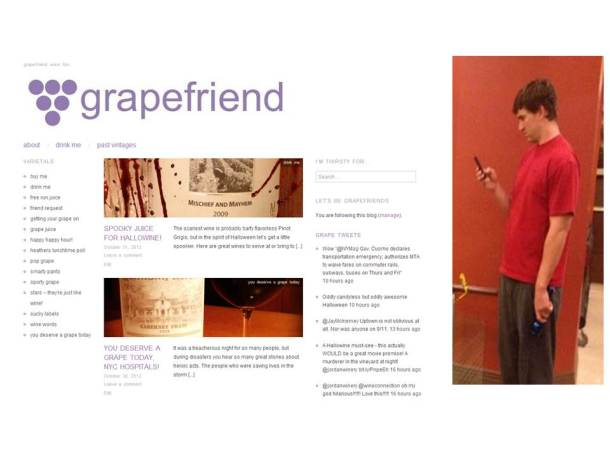 eli manning looking at grapefriend