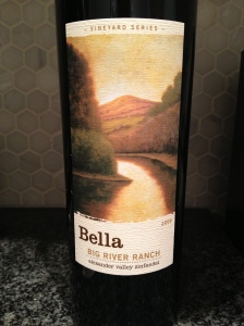 bella big river ranch zinfandel