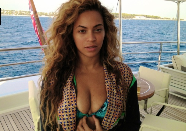 beyonce yacht beer