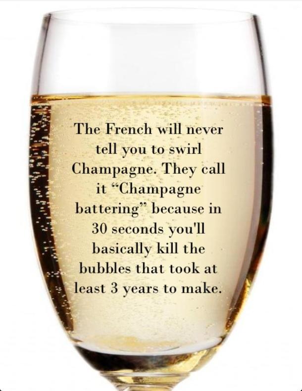 champagne battering