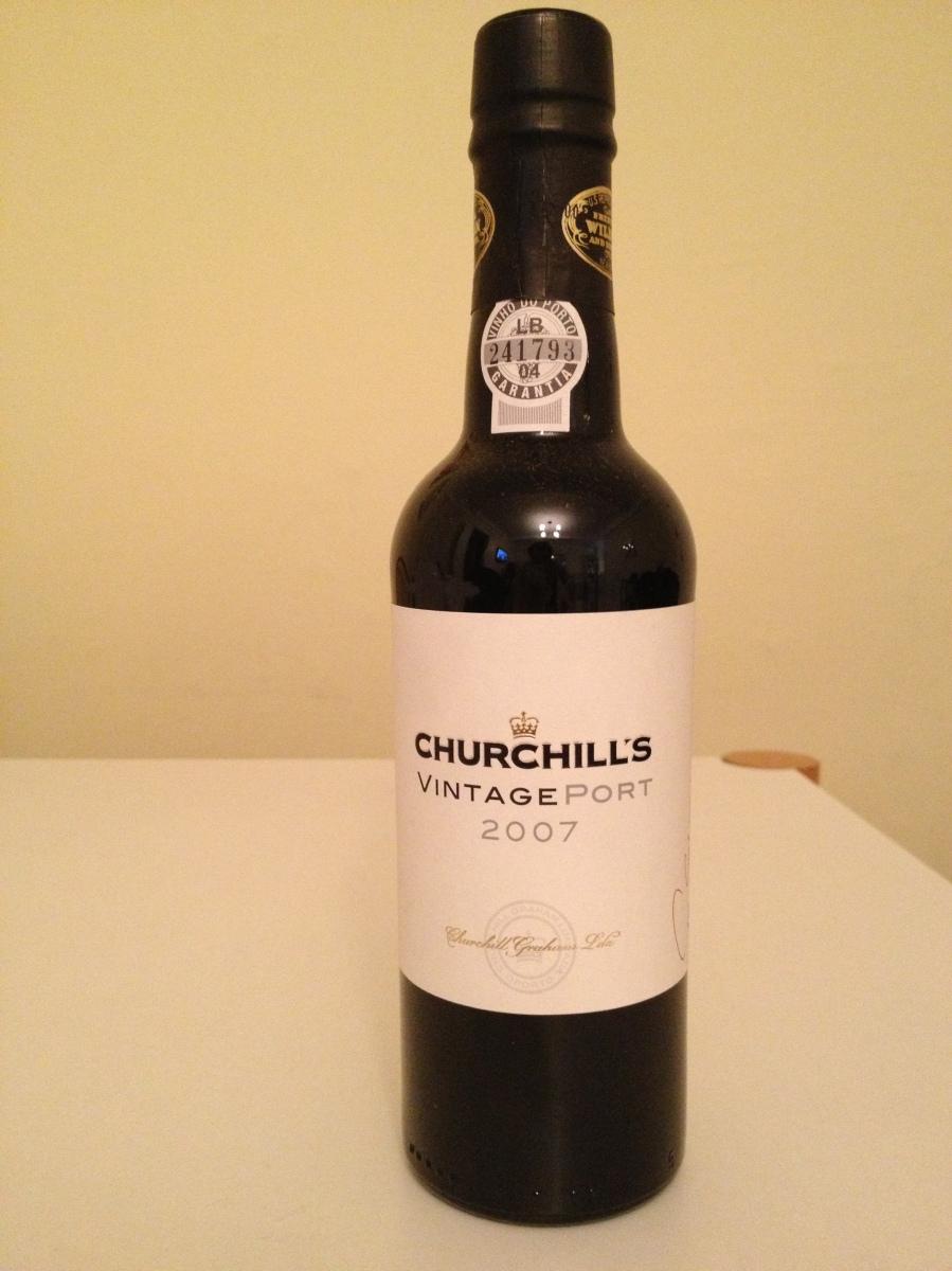 churchills half bottle port