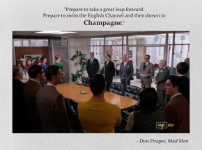 don draper's fantastic fizzmas moment