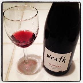drink me: wrath ex anima pinot noir