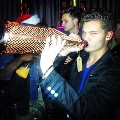 """Just your average night with a $50,000 bottle of ace of spades"" by justin_arnold"