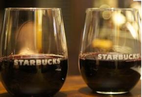starbucks evening wines