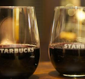 starbucks evening wines