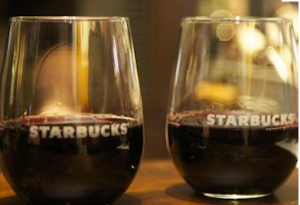 starbucks evenings wines