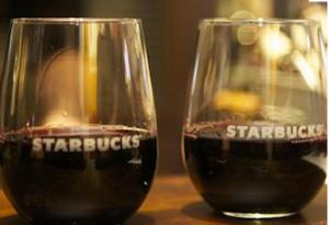 starbucks evenings wines