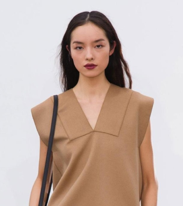 derek lam burgundy wine lip