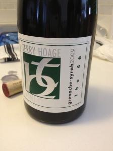 terry hoage wine
