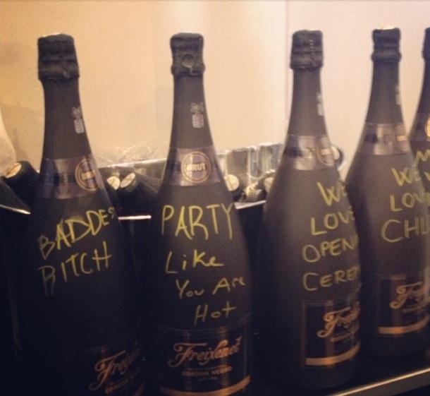 chloe sevigny nyfw champagne