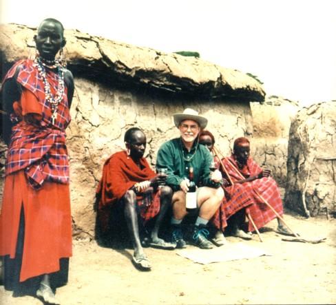 1997 winner David Ratcliff in Kenya Africa