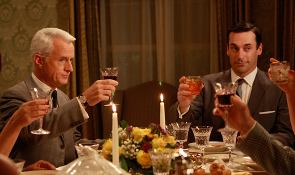 don draper dinner cocktail