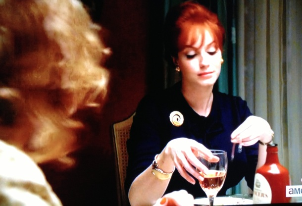 joan lancer's wine mad men