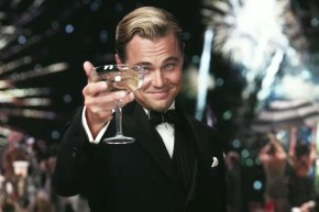 gatsby gets bubbly, obvs