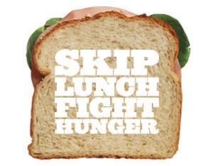 skip lunch