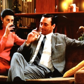 mad men wine count: grapiest moments