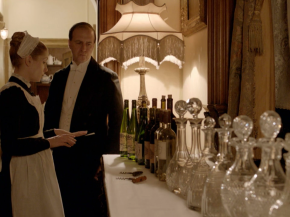 downton abbey's getting its own wineline