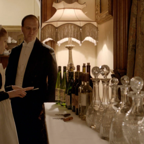 downton abbey's getting its own wine line
