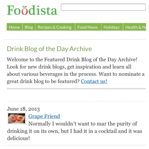 foodista wine blog grapefriend