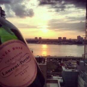 rooftop rosé!