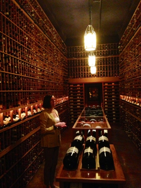 yeah, it's just a little sicker than yours. seriously it's like a wine museum, and I really want to go to one of their dinner parties.