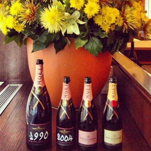 vintage champagne moet